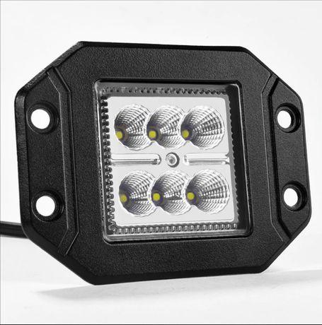 Комплект 2 броя LED Халоген за вграждане 18W