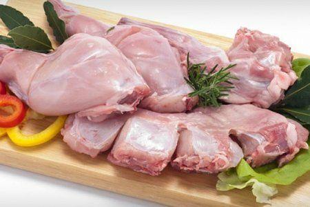 Мясо кролика нежное