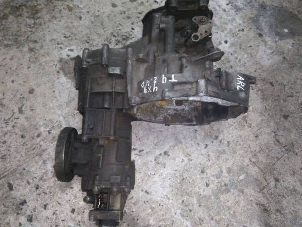 Полный привод VW T4 syncro 2.4