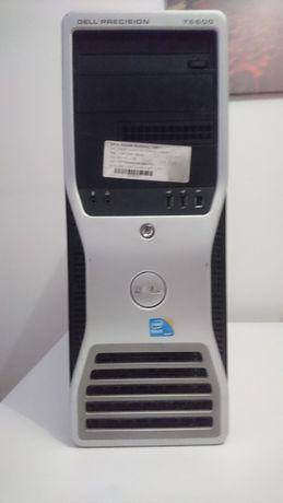 компютър dell t5500(6 ядрен,видео карта 4 гб 256 бита,12гб рам)