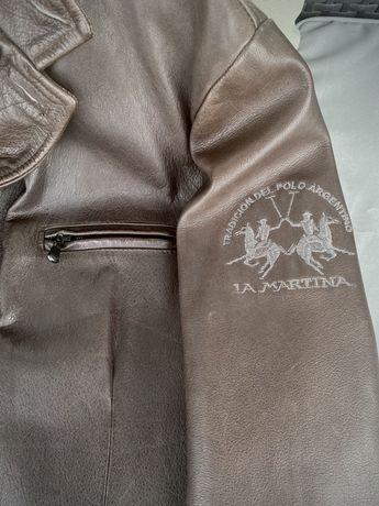 Haina/geaca/jacheta de piele La MARTINA (originala/barbati)