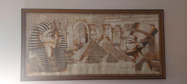 Vand 2 tablouri din papirus original Egyptian