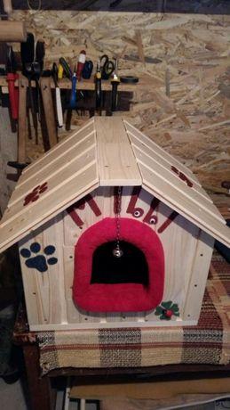 Vând casuta pentru catelusi si pisici