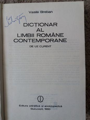 Dictionar al Limbii Romane Contemporane-Vasile Breban,ed Enciclopedica