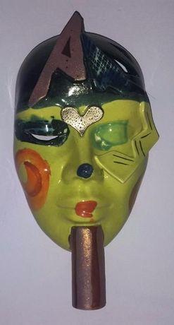 Masca venetiana din sticla 20x13 cm