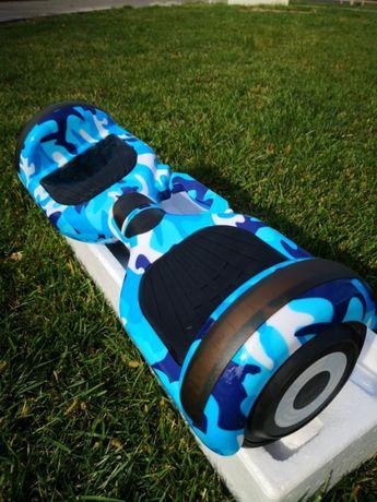 Oferta hoverboard nou albastru camuflaj