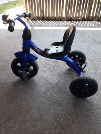 Tricicleta copii albastră