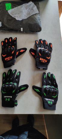 Мото перчатки разные