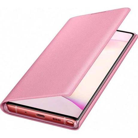 Husa LED View SAMSUNG Galaxy Note 10 EF-NN970PPEGWW roz noua sigilata