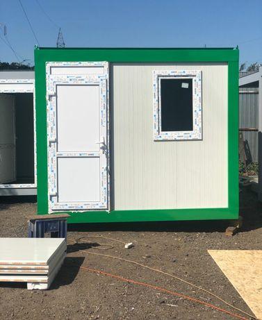 Container tip paza birou sanitar modular casa garaj magazin vitrina