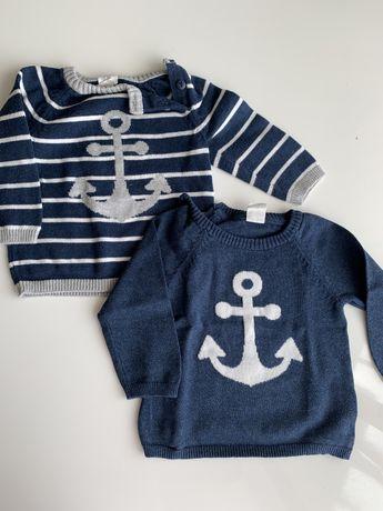 H&M пуловерчета 6-9м