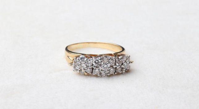 Кольцо c бриллиантами, золото 750 Россия, вес 4.83 г. «Ломбард Белый»