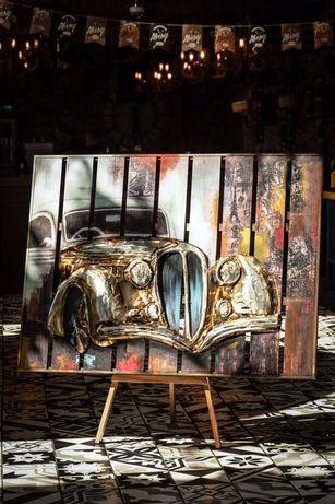 Картина панно декор авто мото эксклюзив арт лофт подарок