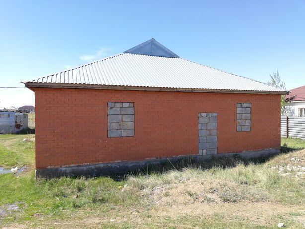 Срочно Продам недостроенный Двухквартирный дом в Каражаре.