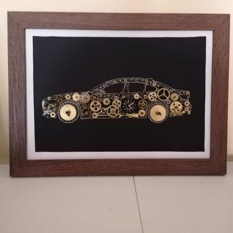 Tablouri din piese de ceas