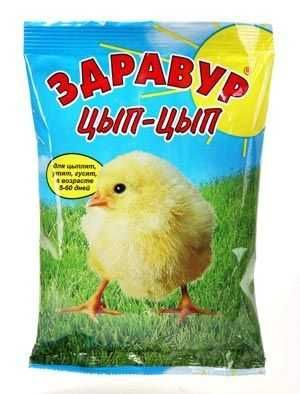 Корма для молодняка птицы.