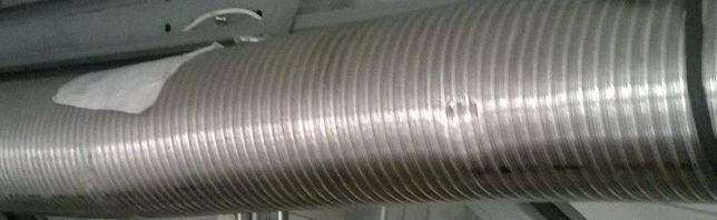 tub inox flexibil 250mm lungime minima 4 ml