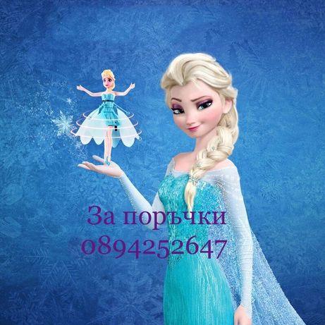 Frozen Летяща Елза Фрозен elza кукла фея дрон играчка принцеса