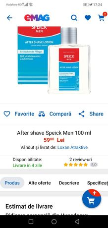 After shave speick men