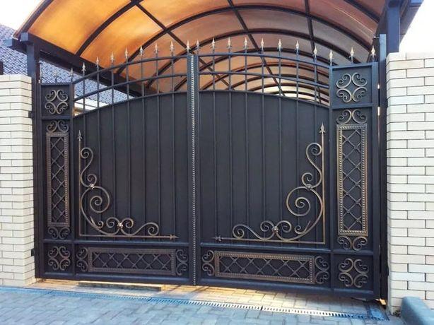Ворота.Решетка.Перила. Кованные ворота с гарантией 15 лет!!!