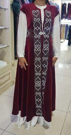 Кажекей и платье