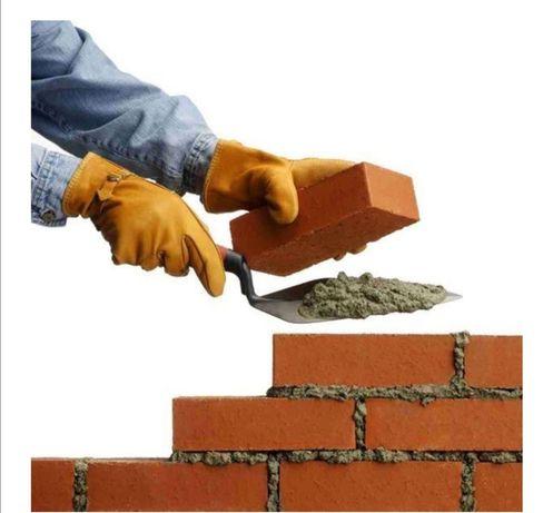 Крыша, кладка, фундамент, стяжка