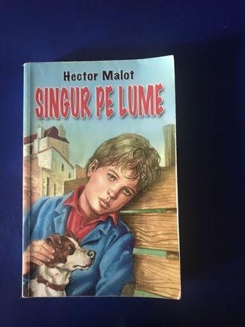 "Carte -""Singur pe lume""-Hector Malot"