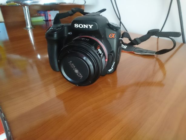 Schimb / vând Aparat foto dslr Sony alpha 300