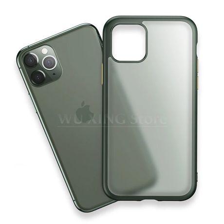 iPhone 11 11 PRO 11 PRO MAX - Husa Hybrid Slim Silicon Spate Plastic