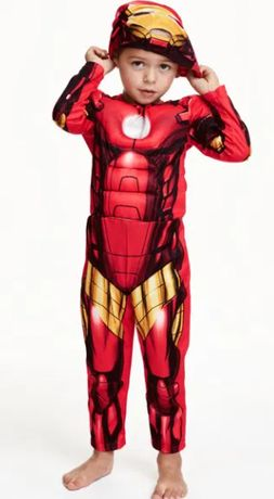 Костюм на Железния Човек - Наличен Високо качество костюм ! размери S-