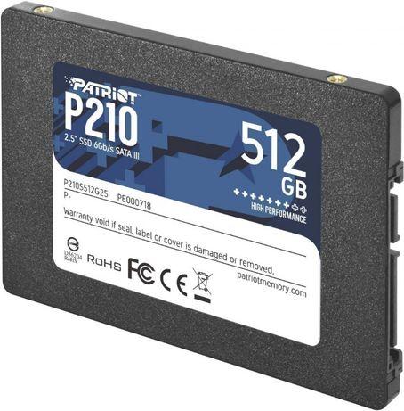 "SSD Накопитель 2.5"" 512Gb Patriot P210S512G25"