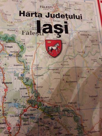 harta judet iasi