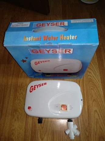 Vind 2 boilere electrice pentru dus+ chiuveta Geyser-Electro Admin