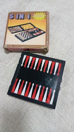 Шахматы магнитные (игра 5 в 1)