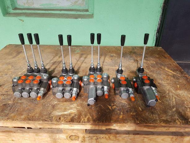 Distribuitor hidraulic P40 cu 1 , 2 sau 3 manete