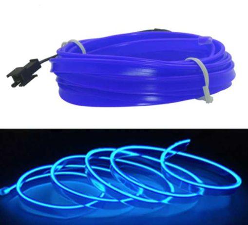 LED Интериорна лента синя 2 метра 12V