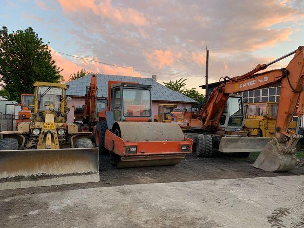 Greder, autogreder, cilindri compactori, excavator 17t, buldo cu picon