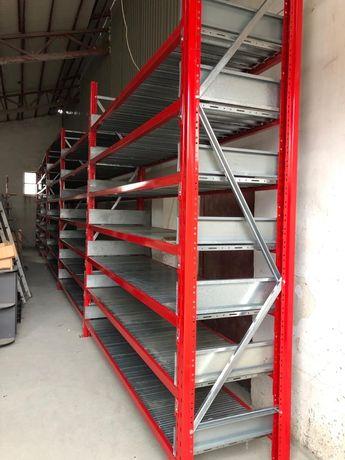 Vă rafturi metalice profesionale reglabile pentru depozitare la super