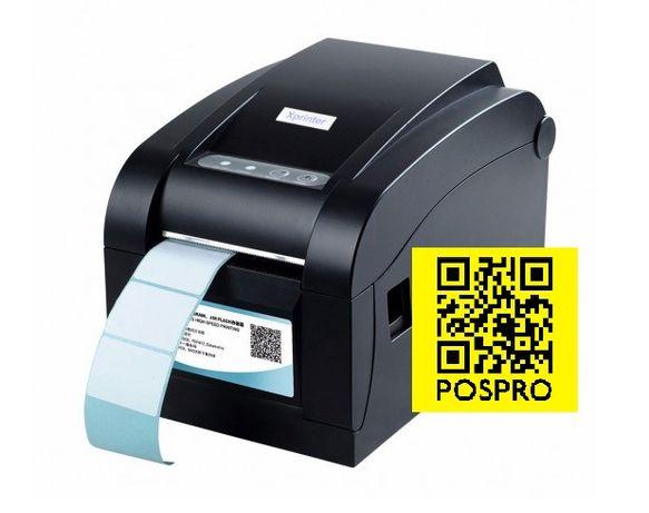 Принтер этикеток штрих кода печать на наклейках Xprinter Кызылорда