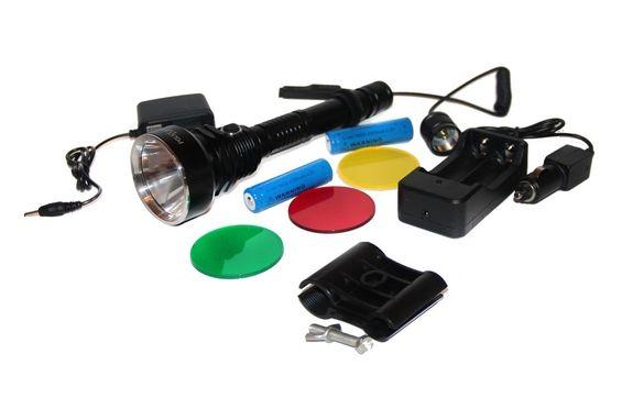 Мощен Фенер 2 батерии BL-Q2888-T6 за монтаж на оръжие за лов