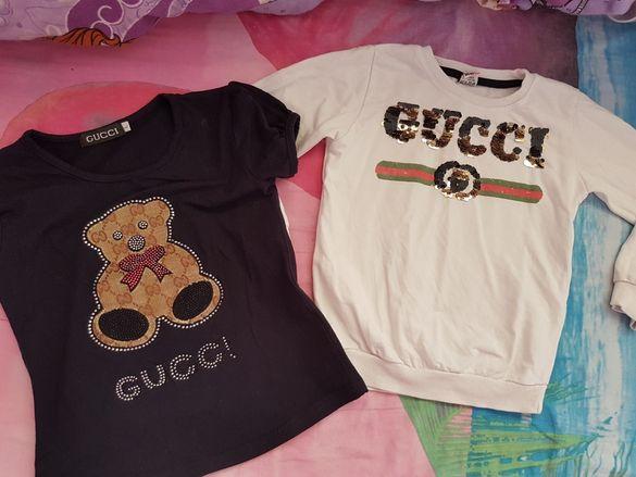 Gucci блузки за ръст 116 см