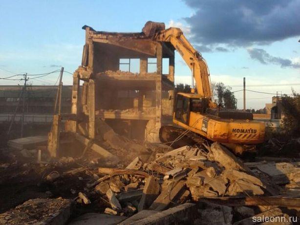Демонтаж зданий, снос , разбор зданий и сооружений, коттеджей и домов