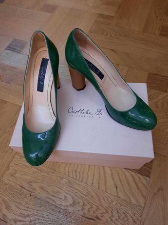 Pantofi piele lac nr 37