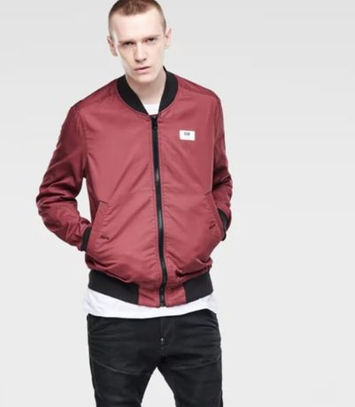 G-Star Raw Sham bomber jacket color dark cherry
