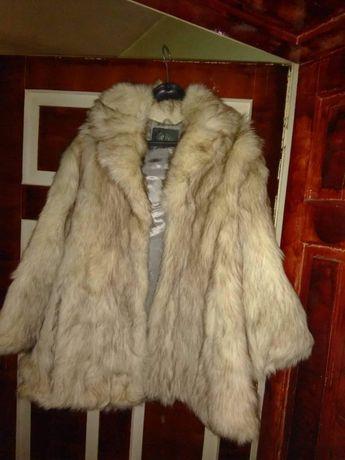 Палто от лисица ново!!!