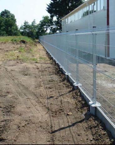 Executăm garduri din plasă bordurată sau plasă val