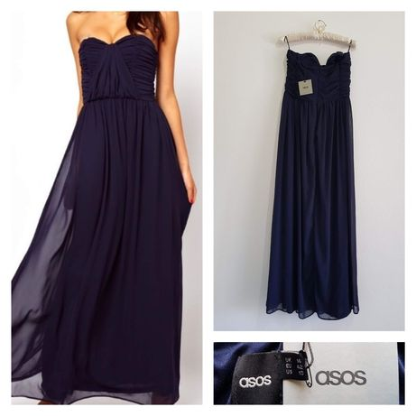 Asos официална, елегантна, дълга рокля, бална рокля