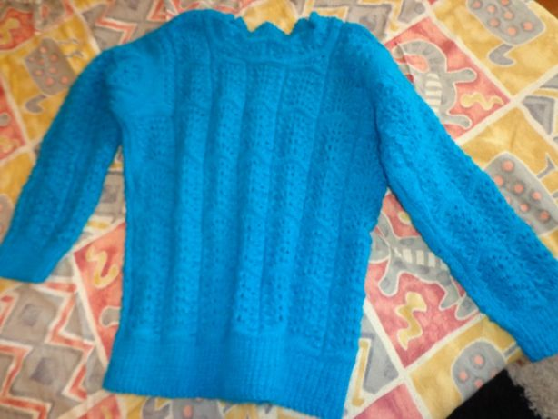 idee cadou-pulover mohair handmade nou fete