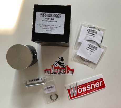 НОВО бутало Wossner за KTM EXC250 00-05 размер 66.36