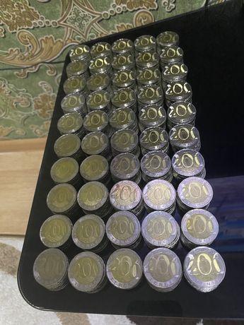 Обмен на деньги монеты номиналом 200 тенге